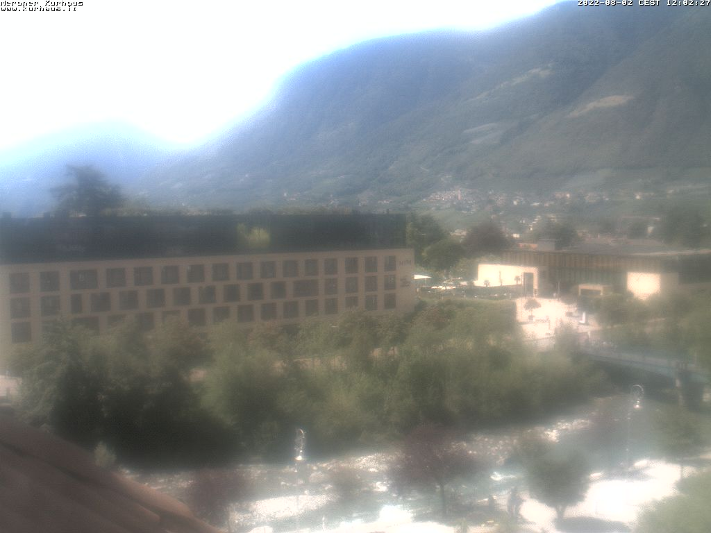 Webcam Kurhaus (con vista su Piazza Terme)